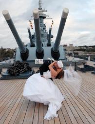 Copy of wedding on the battleship