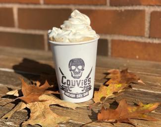 Cardamom Caramel Latte at River Maiden Artisan Coffe