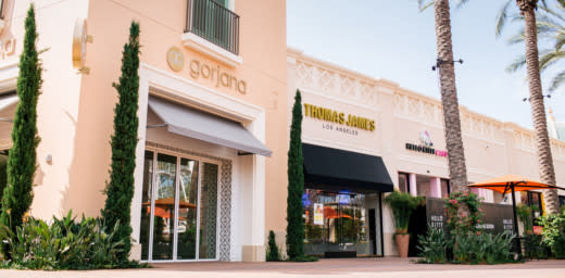 New stores at Irvine Spectrum Center