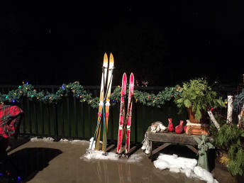 The Carels' Home on the Home for the Holidays Heritage & House Tour in Selkirk, Manitoba