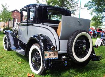 The car show is one of the most popular parts of Quaker Day.