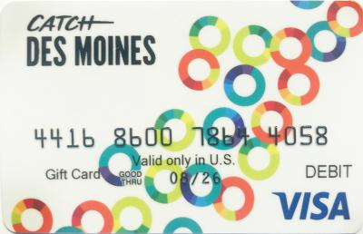 Catch Des Moines Gift Card