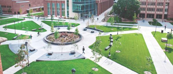 UWEC Campus Mall
