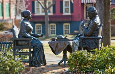 Susan B. Statue