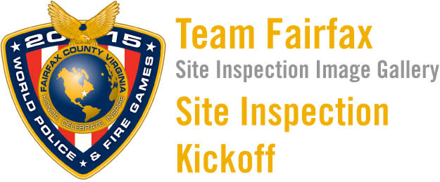 2015 World Police & Fire Games Site Inspection Kickoff