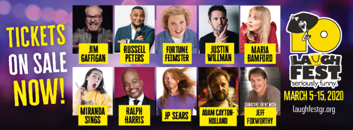 LaughFest 2020 Lineup