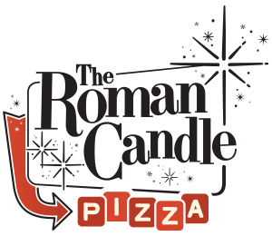 Roman Candle Pizza Logo