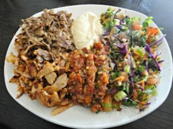 Sultan Kebab meal