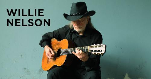 Willie Nelson concert poster