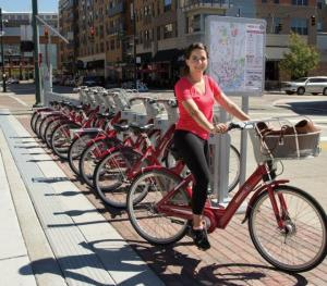 Cincy Red Bike