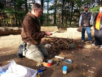 Learn how to start a fire without matches and other survival skills during the Wilderness Survival program at McCloud Nature Park.