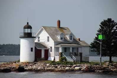 Blue Hill Bay Light