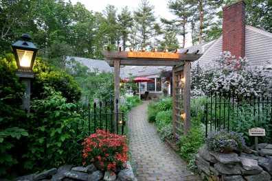 Morning Glory Inn, July Entrance