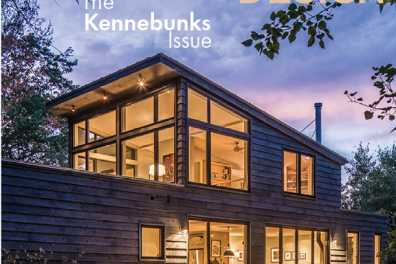 Maine Home + Design Cover May 2018