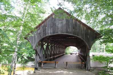 Sunday River bridge
