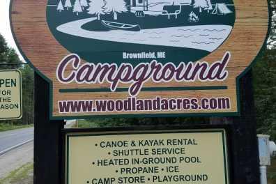 Woodland Acres Sign