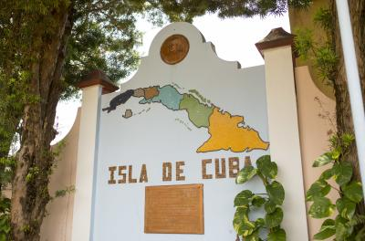 Jose Marti Park Ybor City Cuba