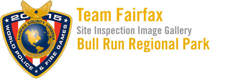 2015 World Police & Fire Games Site Inspection: Bull Run Regional Park Image Gallery Header