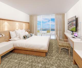 King Oceanfront Guestroom