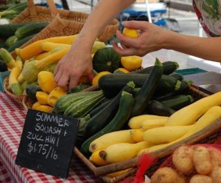 Farmers' Market on Canal Street