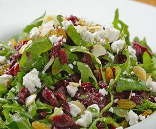 River Grille on the Tomoka Roasted Beet & Goat Cheese Salad