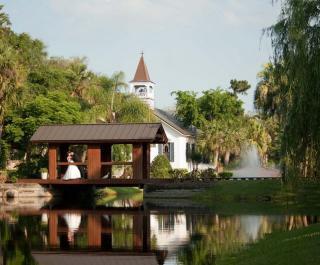 Tavern & Chapel in the Garden