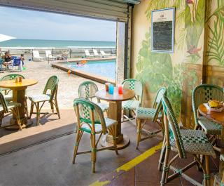 Cool Breeze Cafe Tiki Bar At Oceanside Inn 1909 South Atlantic Avenue Daytona Beach