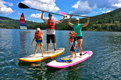 Stand Up Paddleboarding for the whole family!