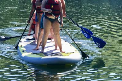 Try our new 8 person SUP!