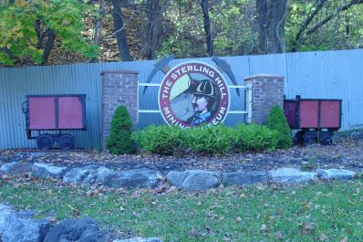 Sterling Hill Mining Museum Entrance