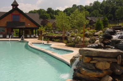 Black Creek Sanctuary Poolside