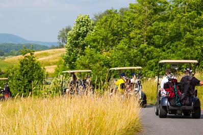 Cascades Golf Course Carts