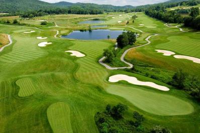 Crystal Springs Golf Club Arial View