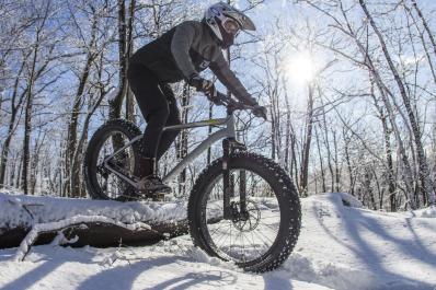 Fat Tire Biking in  Winter