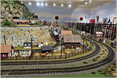 Friar Mountain Model Train