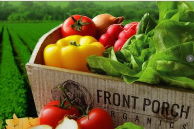 Front Porch Organics Farm Box