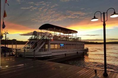 Lake Hopatcong Cruises Sunset
