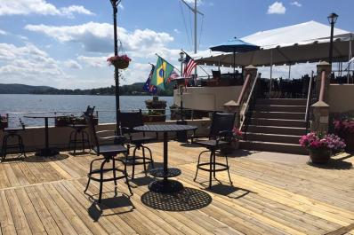 Lake Mohawk Country Club Outdoor Deck