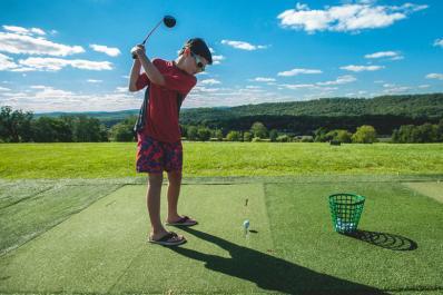 Minerals Golf Club Putting Practice