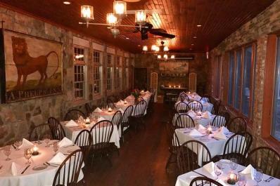Mohawk House Interior Dining