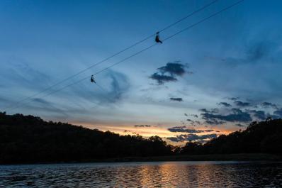 Mountain Creek Zip Tours Night Zip
