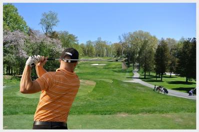 Newton Country Club Golfing