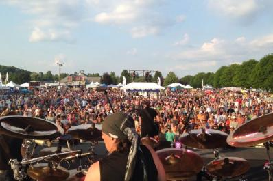 Rock Ribs and Ridges Drummer's View
