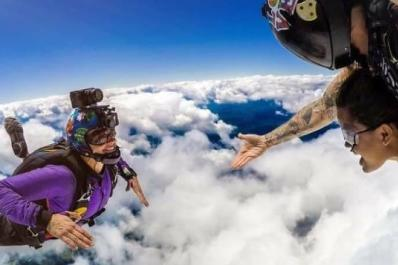 Skydive Sussex Reaching Out