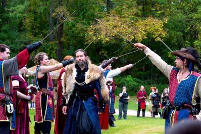 Sparta NJ Renfaire Sword Salute