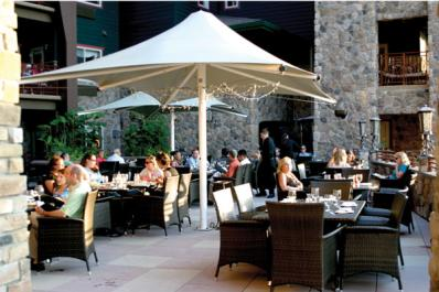 Springs Bistro Outdoor Seating