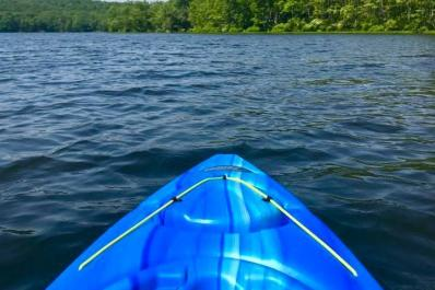Stokes State Forest-view from kayak