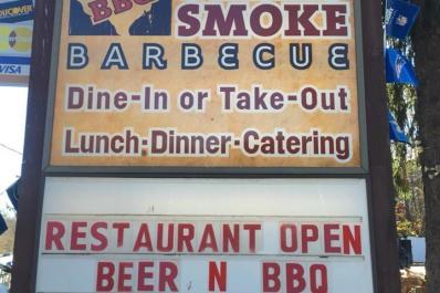Texas Smoke SIgn