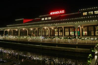 The Windlass Night on Water