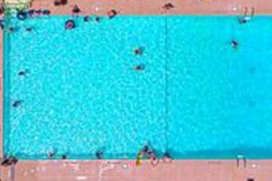 Pleasant Acres Pool from Above
